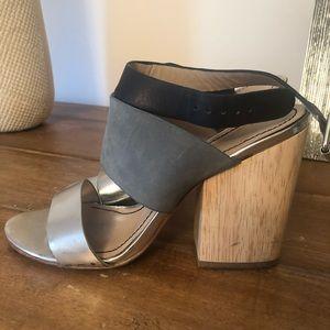 Elizabeth & James -colour block heels